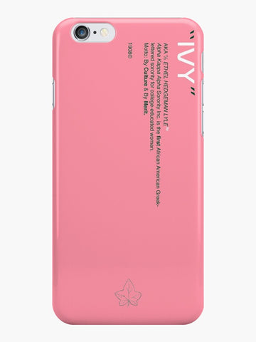 Alpha Kappa Alpha Phone Case - Pink