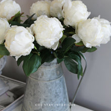 Load image into Gallery viewer, White Peony Stem