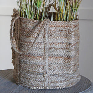 Natural Jute Storage Basket