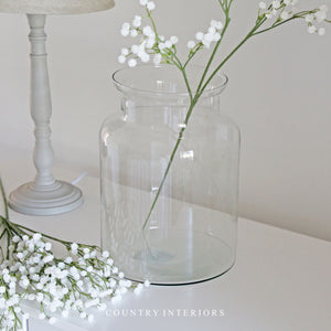 Faux White Gypsophila Spray