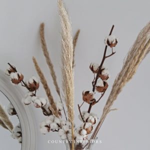 Pampas Grass Set - Two Pieces