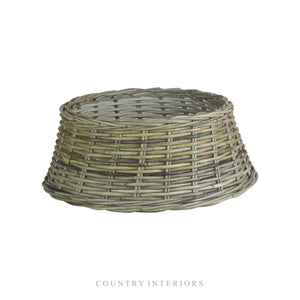Christmas Tree Skirt - Rattan