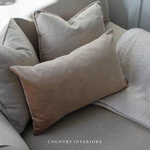 Load image into Gallery viewer, Camel Velvet Cushion