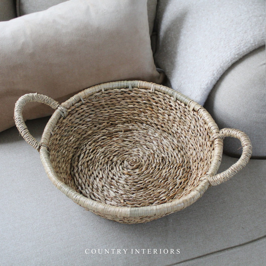 Twisted Seagrass Tray