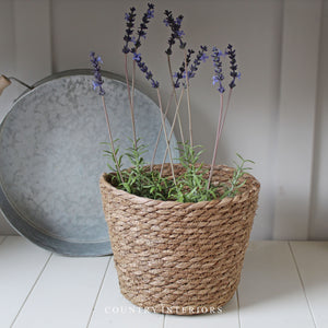 Round Lidded Basket