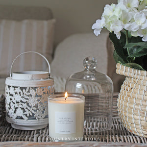 Relaxing Candle - Geranium, Eucalyptus, Lavender & Orange