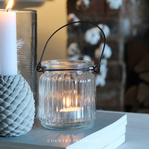 Mini Ribbed Tealight Holder
