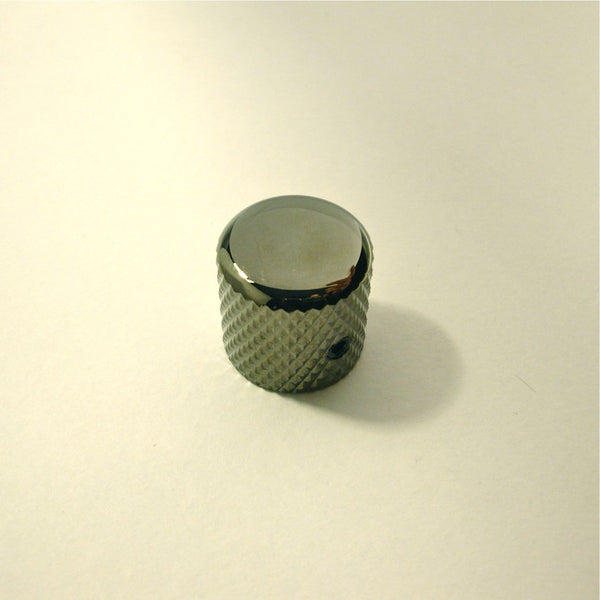 Dome knob, metal, with allen-type set screw