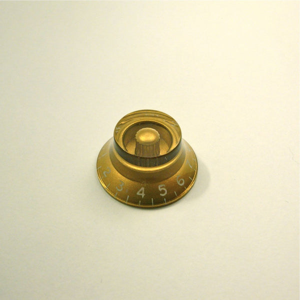 Volume/tone Gibson-style bell knob, metric size