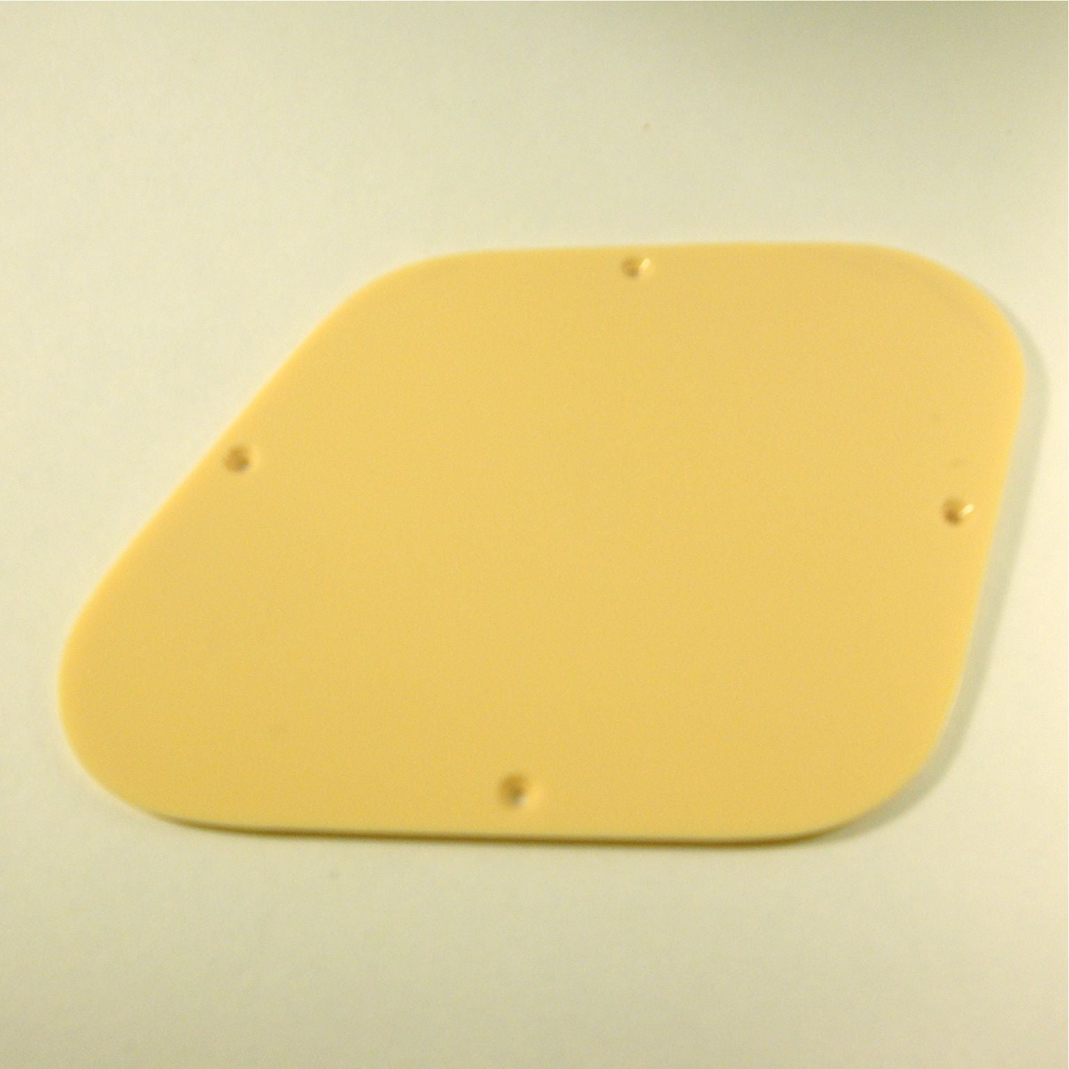 Les Paul-style cover plate for electronics cavity
