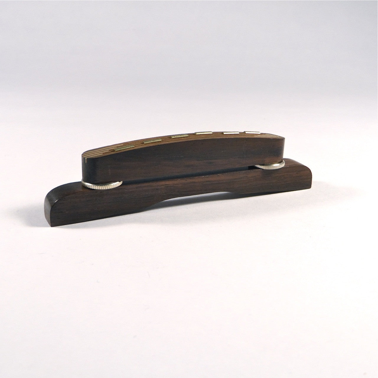 Bridge for archtop guitar, Höfner style, rosewood
