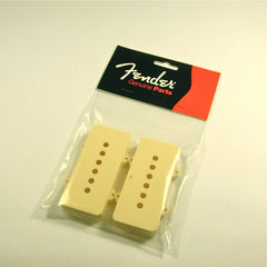 Fender® pickup covers for Jazzmaster, parchment, set of 2