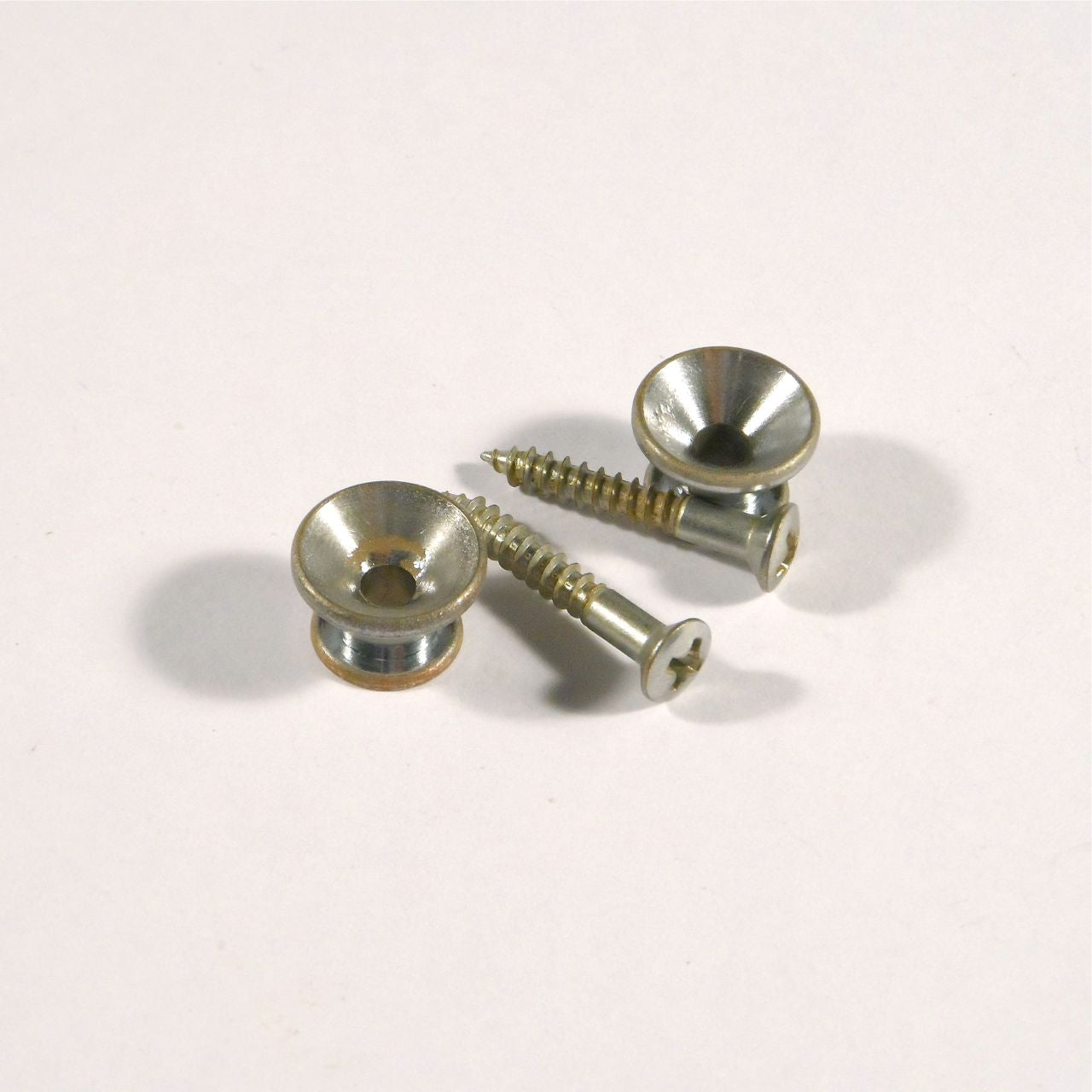 Gotoh strap buttons, set of 2, relic finish
