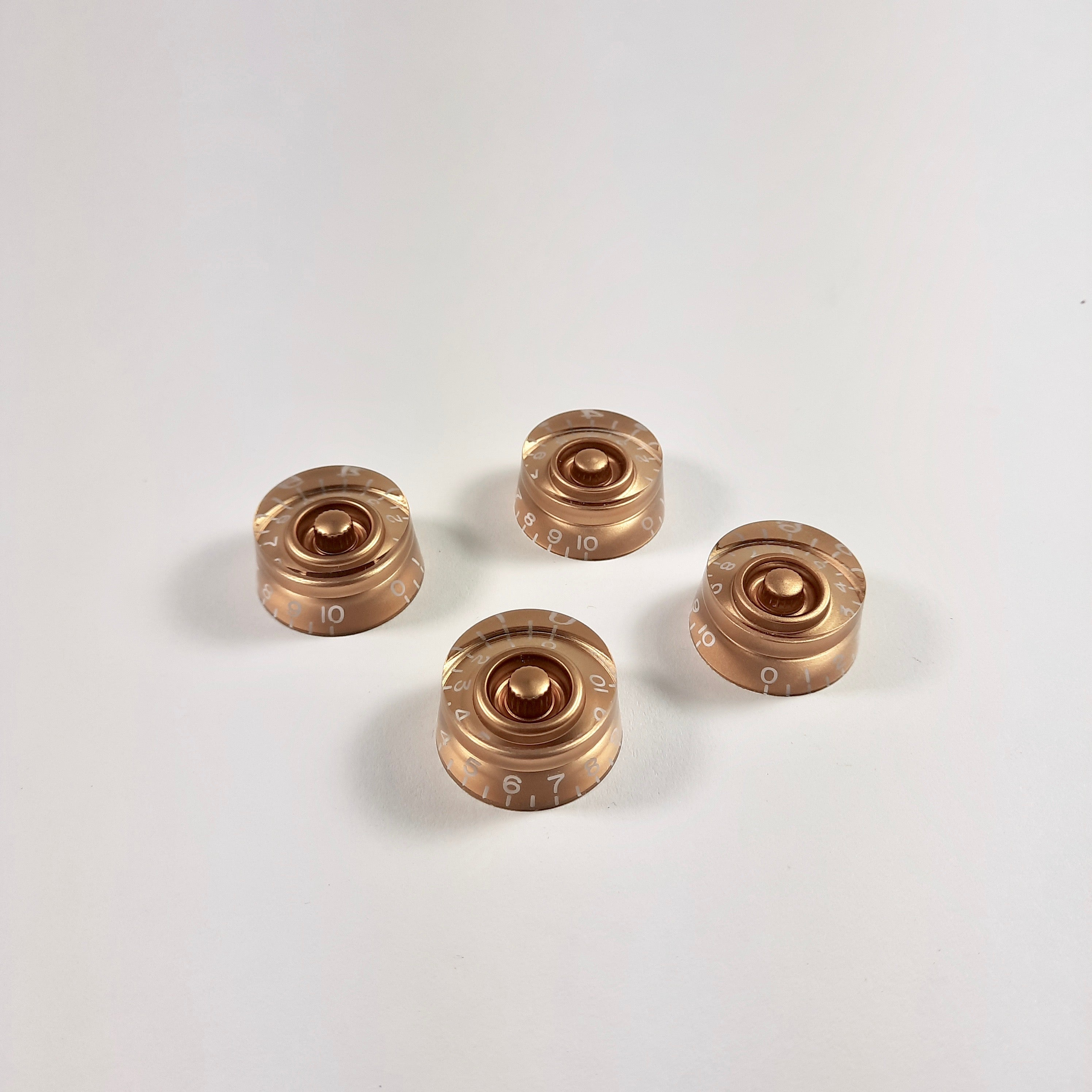 Speed knob set for Gibson, metric, gold