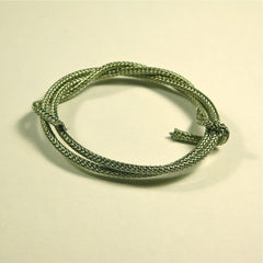 Vintage style braided push-back wire
