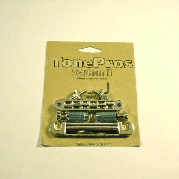 TonePros LPNS02 bridge/tailpiece set, nickel