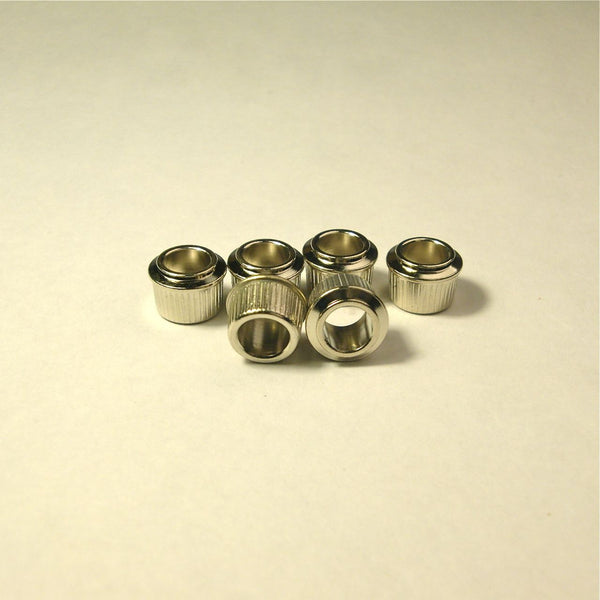 "3/8"" Conversion bushings for tuners, nickel"