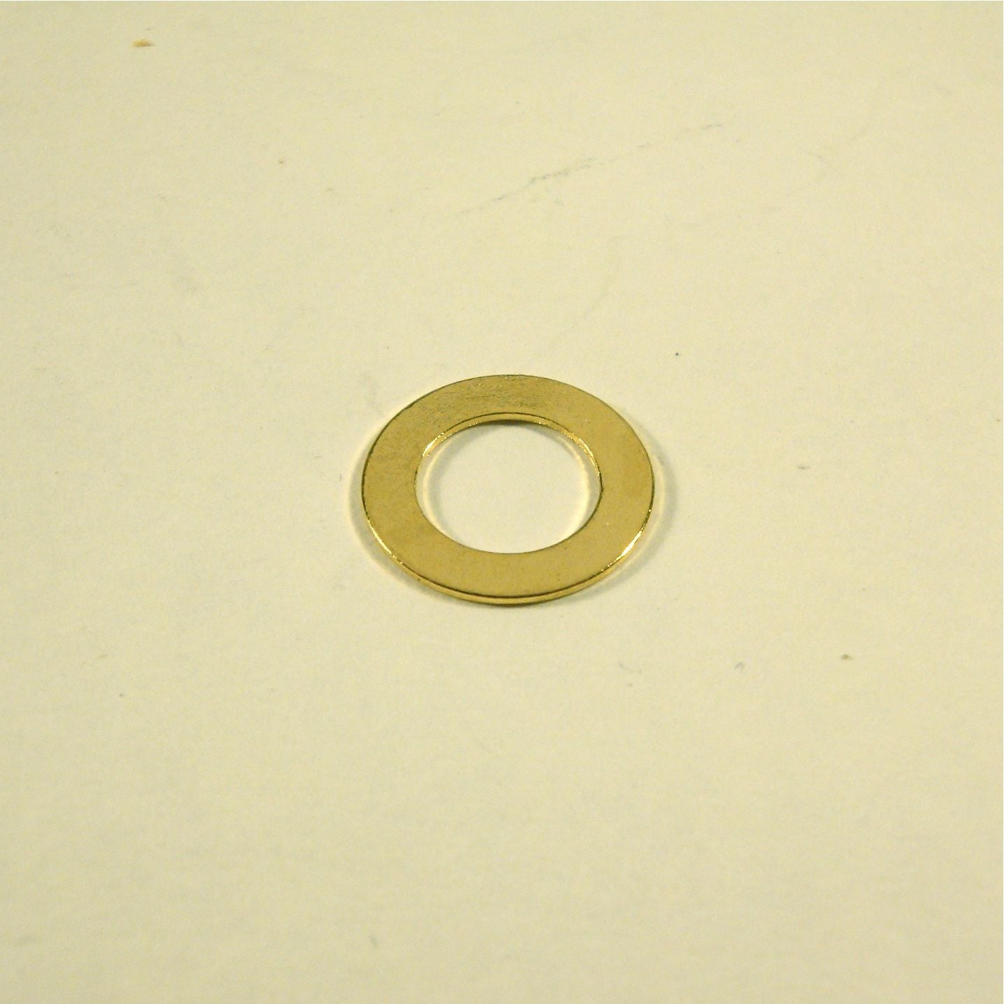 Washer for Switchcraft output jack and CTS pots, gold