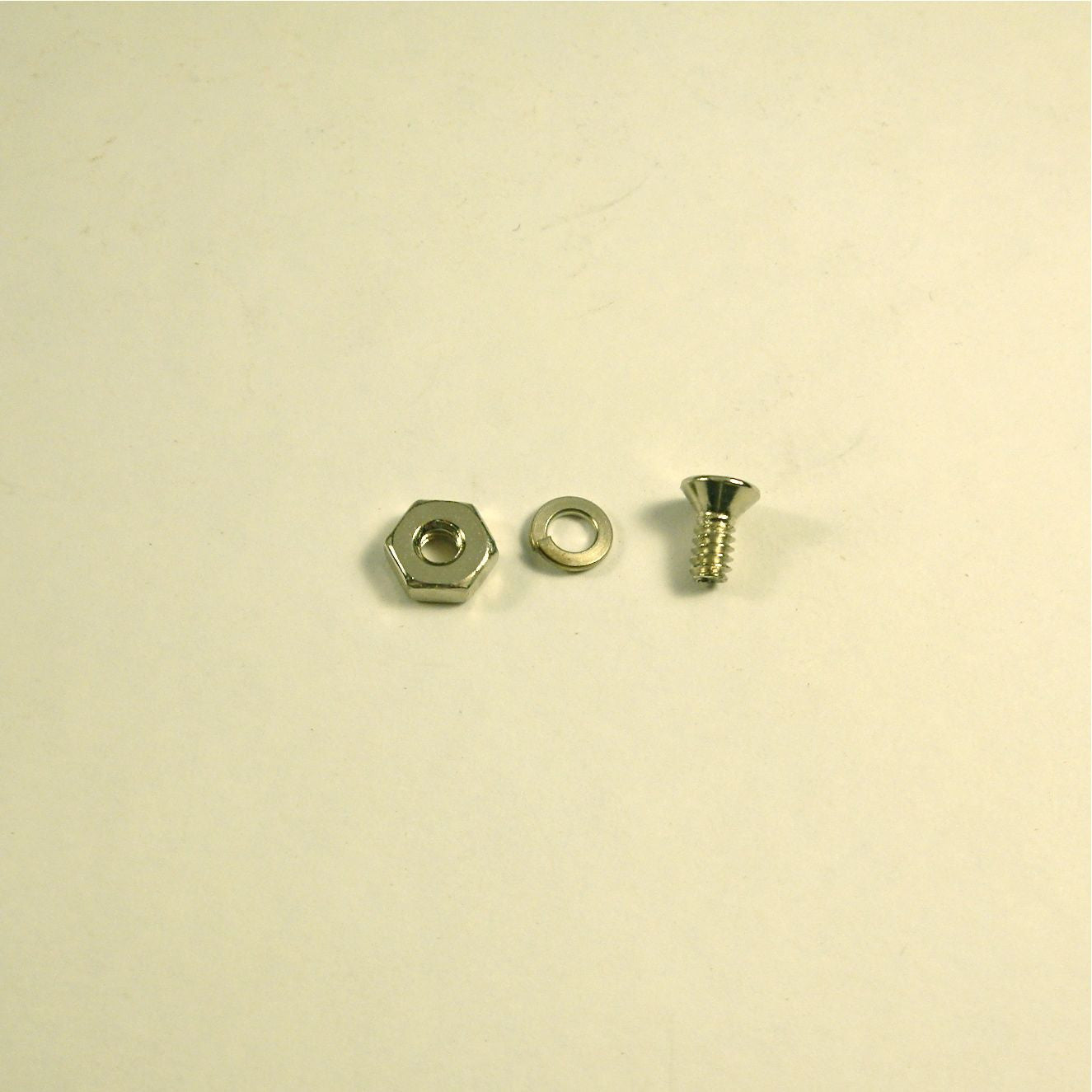 Screw kit for pickguard bracket