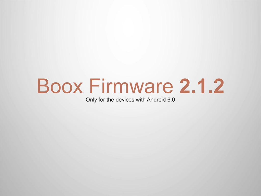 Firmware 2.1.2 Update — The New Features You May Miss