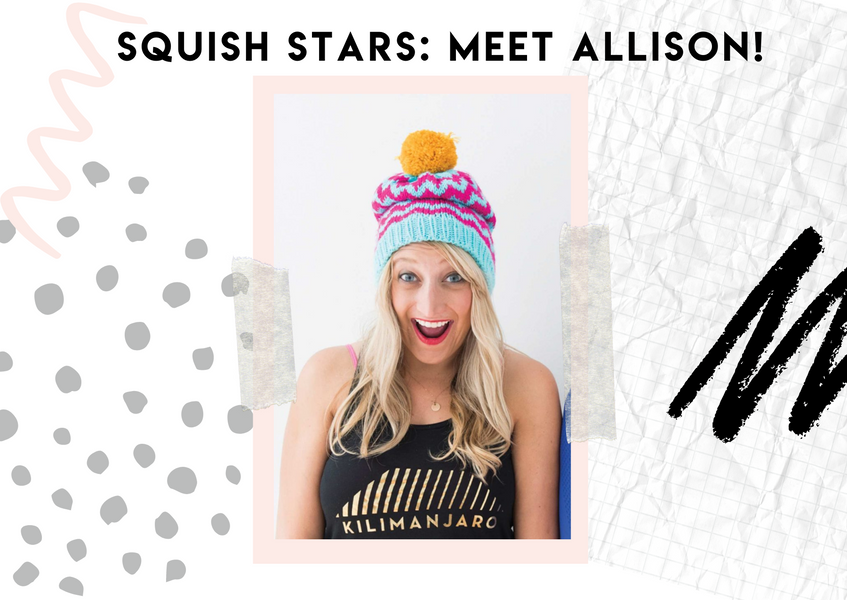 Squish Stars: Allison Fleece