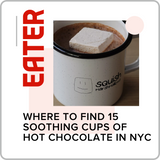 eater article where to find 15 soothing cups of hot chocolate in nyc squish marshmallows