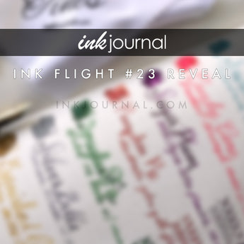 Ink Flight #23 Reveal + Giveaway