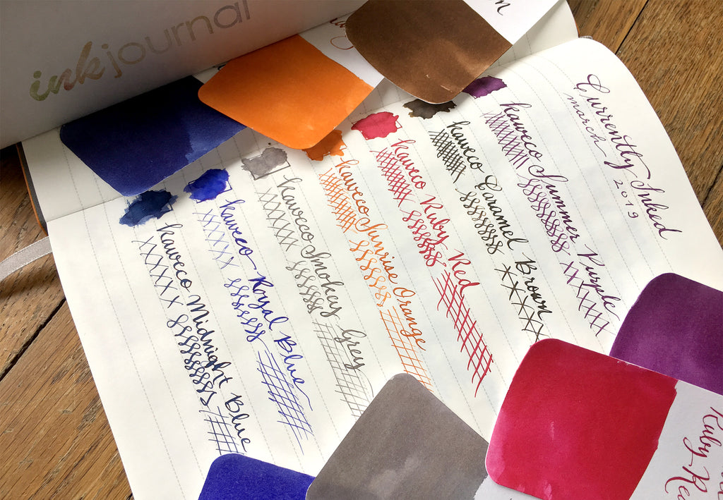 Ink Flight Kaweco ink colors