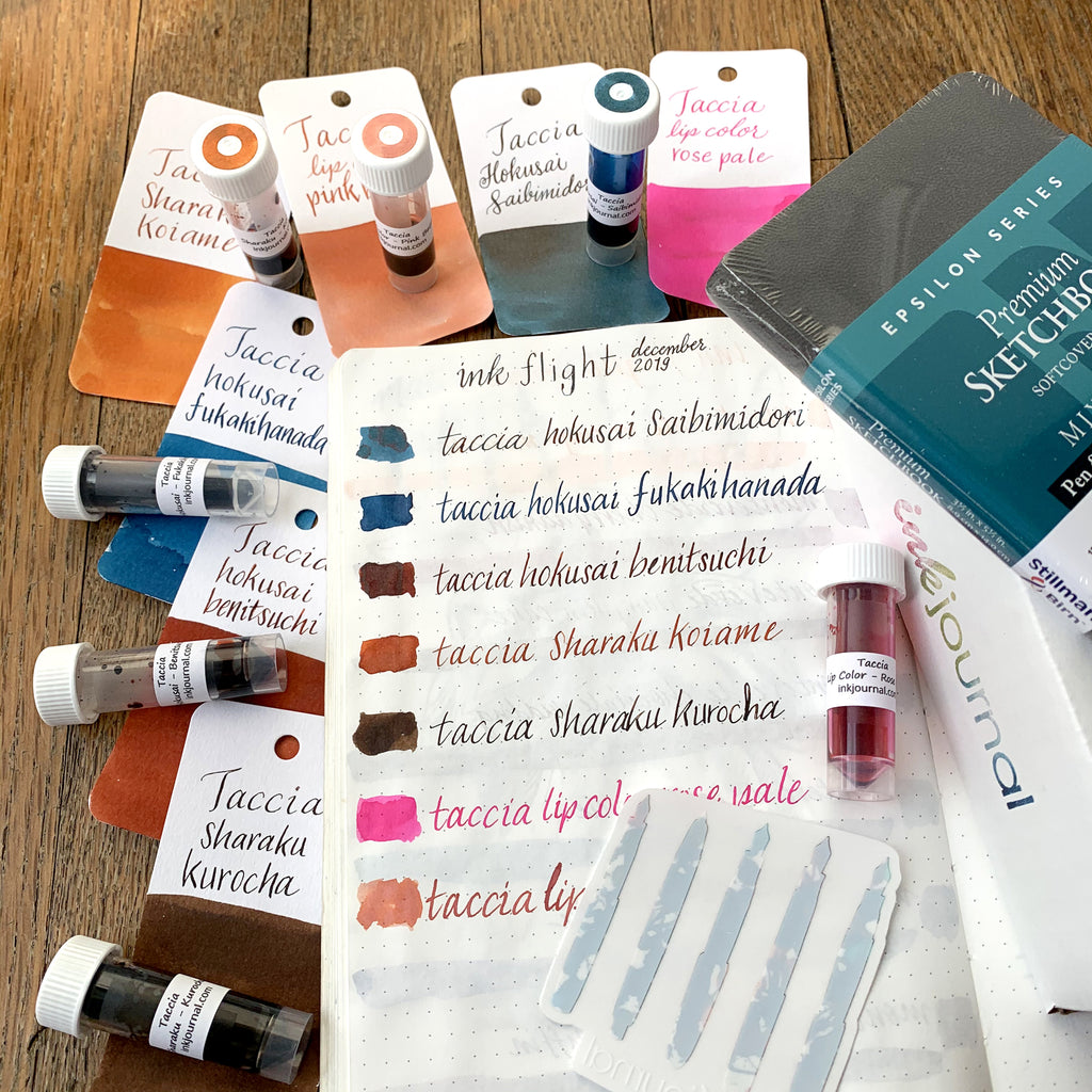 Ink Flight Contents - December 2019
