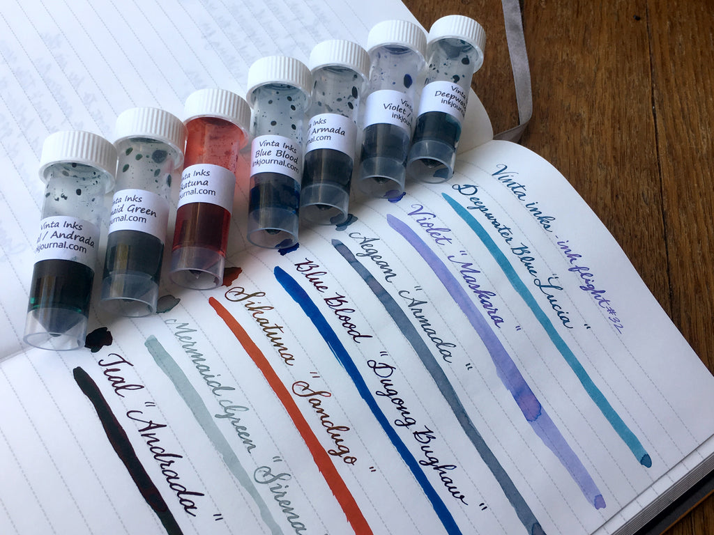 Vinta ink swabs and vials