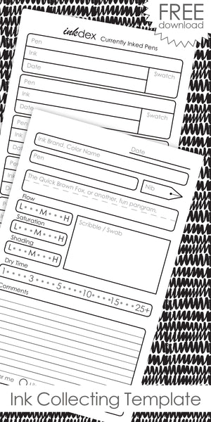 Free Resources and Printable Templates