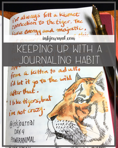 keeping up with a journaling habit