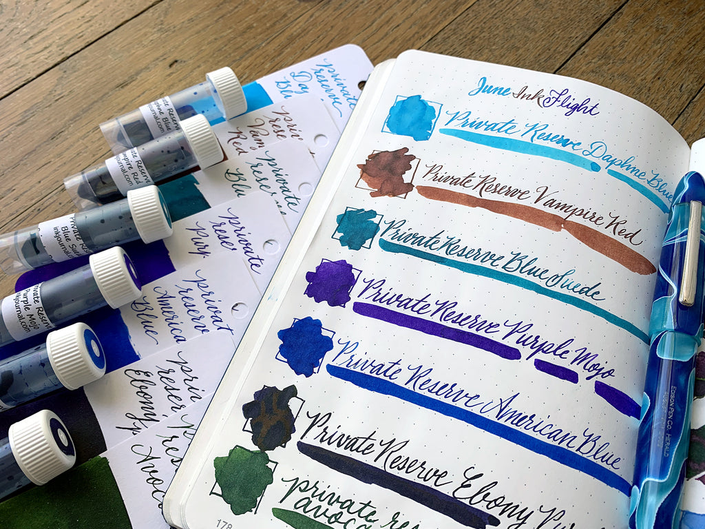Private Reserve Ink Flight Colors