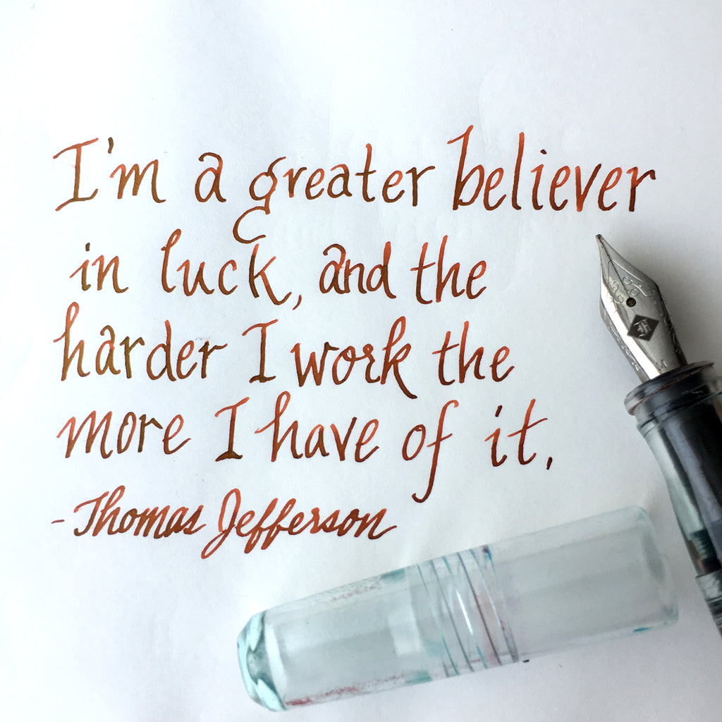 thomas jefferson quote jungle volcano franklin christoph fountain pen