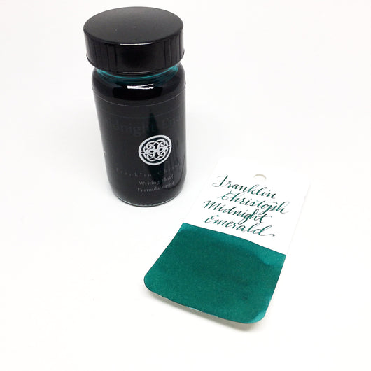 Franklin-Christoph Midnight Emerald Bottled Ink 59ml