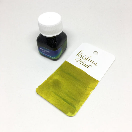 Krishna Mint Green Bottled Ink 20ml