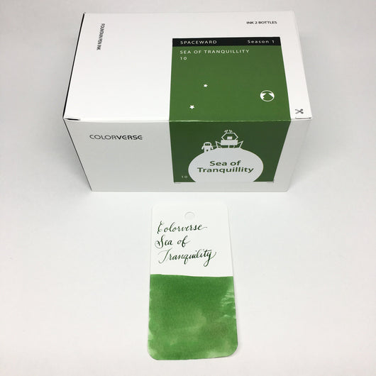 Colorverse Sea of Tranquility Green Bottled Ink 65ml + 15ml