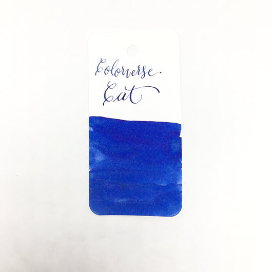 Colorverse Cat Blue Glistening Ink Sample 2ml