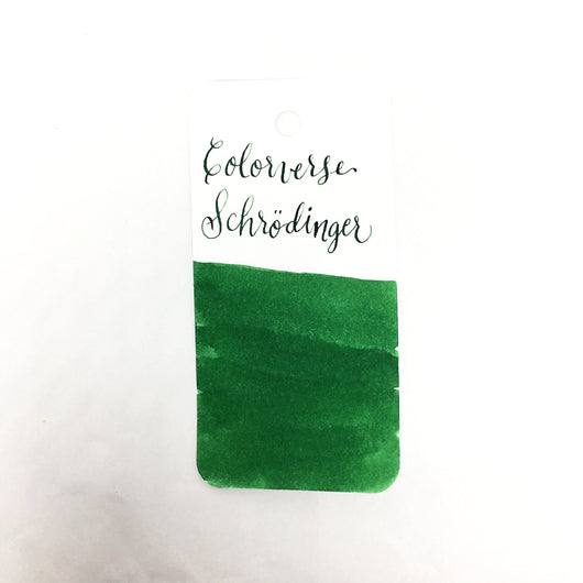 Colorverse Schrödinger Green Ink Sample 2ml