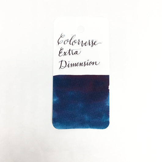 Colorverse Extra Dimension Blue Ink Sample 2ml