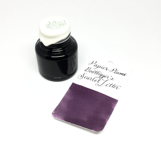 Papier Plume Bootlegger's Scarlet Letter Bottled Ink 30ml