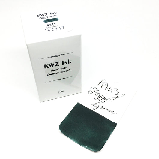 KWZ Foggy Green Bottled Ink 60ml
