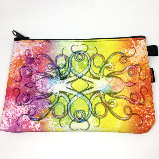 Rickshaw Bags x InkJournal Exclusive Inktopus A5 Journal Zip Pouch - Sorbet Squid