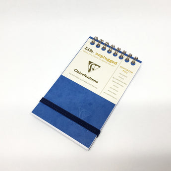 Clairefontaine Wirebound Reporter Pad with Elastic Closure - 60 Sheets