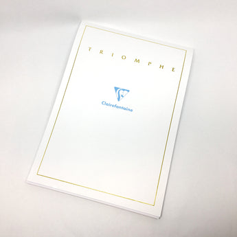 Clairefontaine Triomphe Stationery Pad A5 Size - 50 Sheets