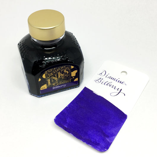 Diamine Bilberry Royal Purple Bottled Ink 80ml