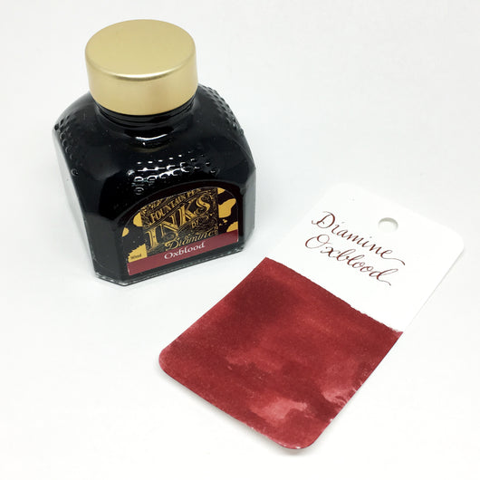 Diamine Oxblood Red Bottled Ink 80ml