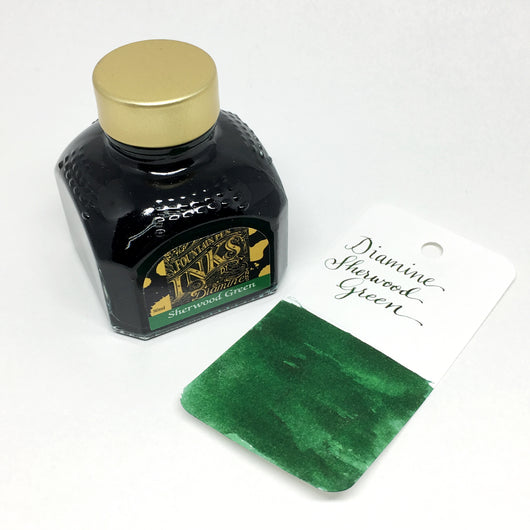Diamine Sherwood Green Bottled Ink 80ml