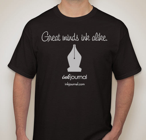 Great Minds Ink Alike T-Shirt - Black