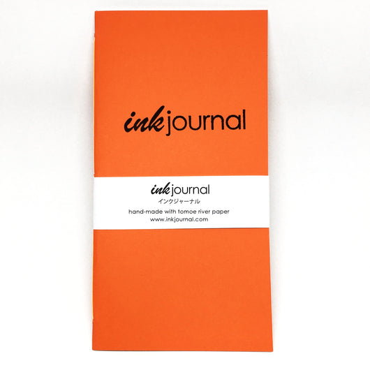 InkJournal TN Regular Size Orange Zest Notebook